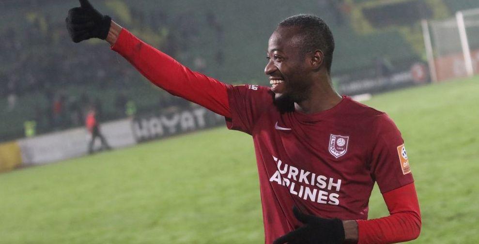 Midfielder Joachim Adukor saves Sarajevo from defeat
