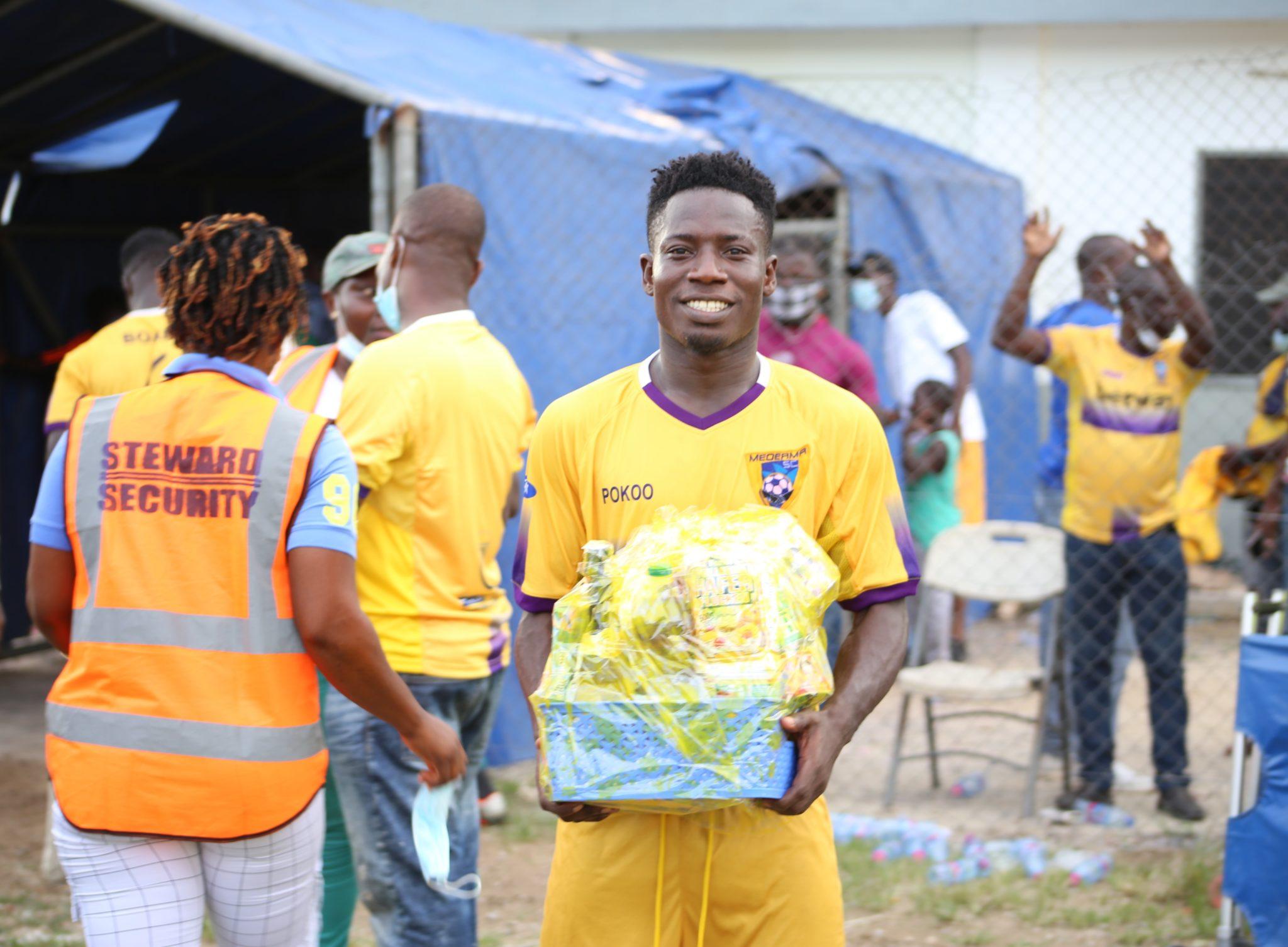 2020/21 Ghana Premier League: Rashid Nortey clinches Fan's Player of the Match in win over Ebusua Dwarfs