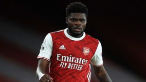 Arsenal manager Mikel Arteta says Thomas Partey has the capacity to shoot from distance