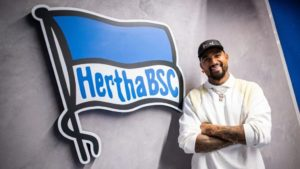 Kevin-Prince Boateng to wear No.27 for Hertha Berlin