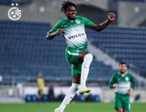 Godsway Donyoh set to stay at Maccabi Haifa next season despite interest from top European clubs
