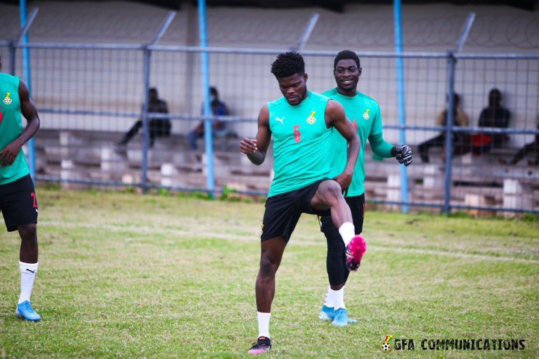 Partey and Fosu join Black Stars camp ahead of Ivory Coast clash