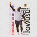 Legon Cities fitness coach appointed Black Meteors fitness coach