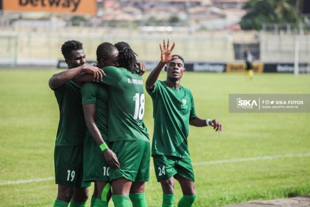 20/21 Ghana Premier League matchday 29: Benjamin Boateng net's brace for Elmina Sharks in vital 2-1 win against Wonders