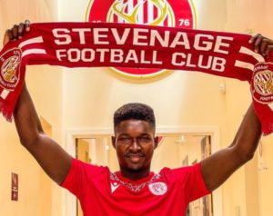 """""""I am excited to be here"""" - New Stevenage FC signing Joseph Anang"""