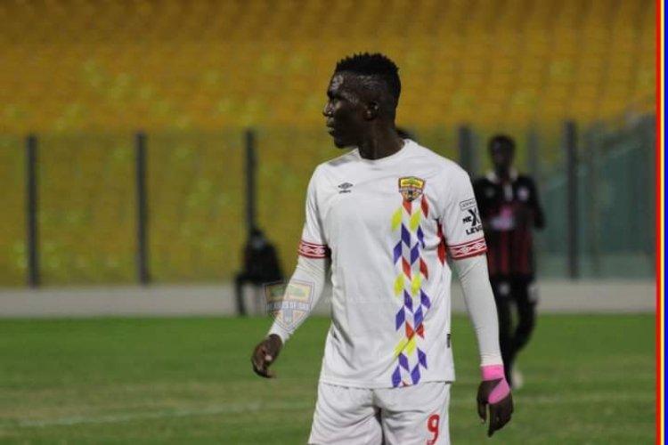 Striker Abednego Tetteh confident of Hearts of Oak title chances