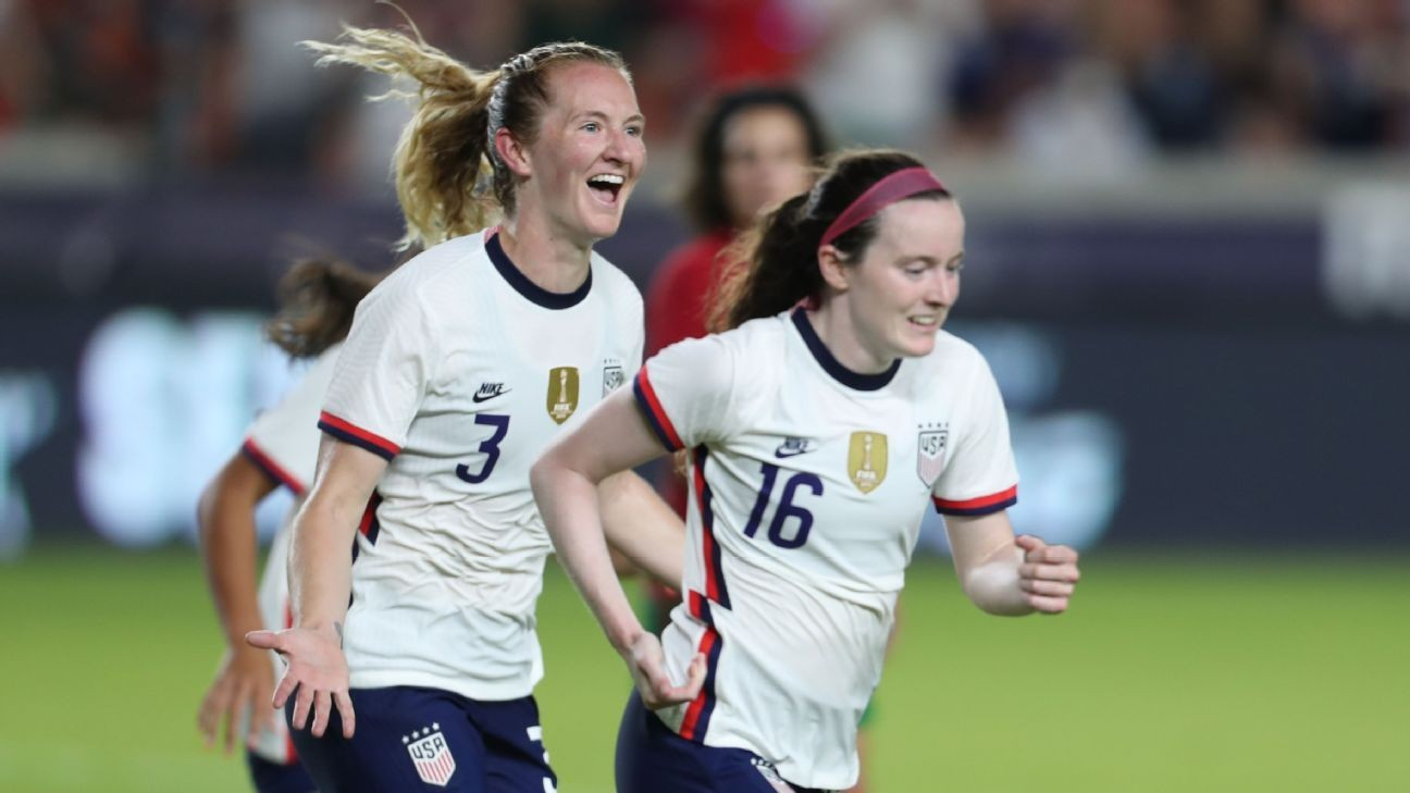 Mewis on target as USWNT defeats Portugal