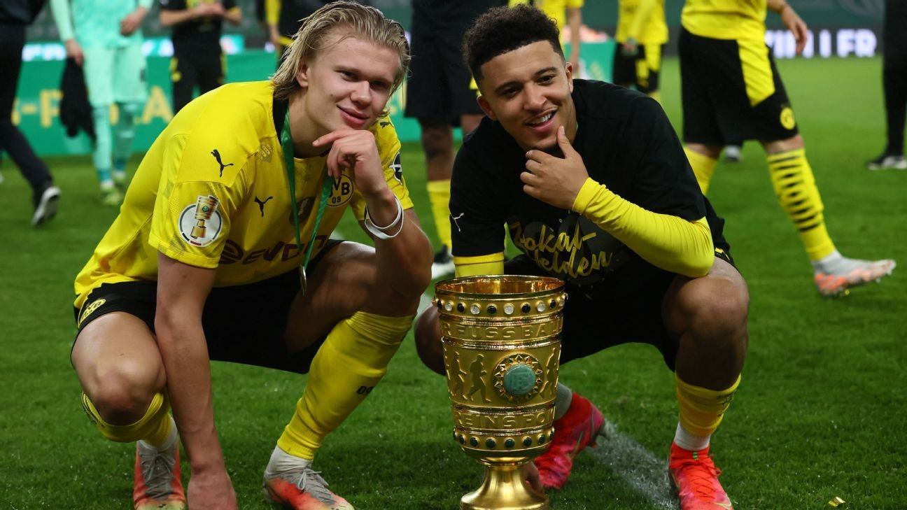 Sancho to join Man United, but Haaland stays at Dortmund