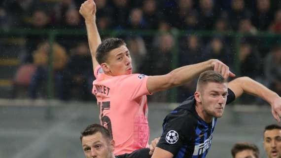 LIGA - Barcelona FC backliner Lenglet turning Italian club down