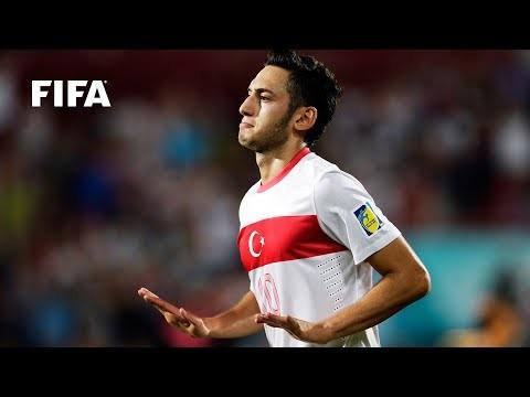 Hakan Calhanoglu goal vs Australia   FIFA U-20 World Cup