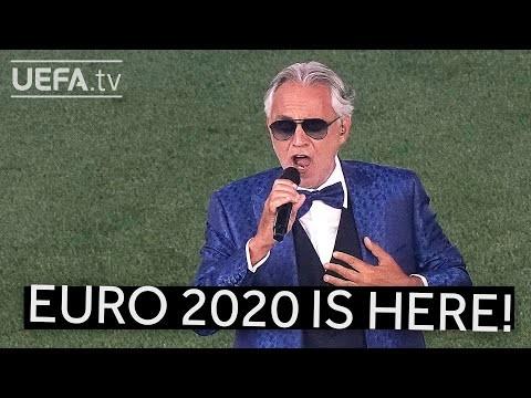 Andrea Bocelli launches EURO 2020!