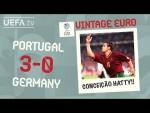 PORTUGAL 3-0 GERMANY, EURO 2000 | VINTAGE EURO