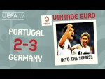 PORTUGAL 2-3 GERMANY, EURO 2008 | VINTAGE EURO