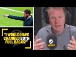 """I WOULD HAVE CHANGED BOTH FULL BACKS!"" Stuart Pearce says he'd have changed both full-backs #Eng"