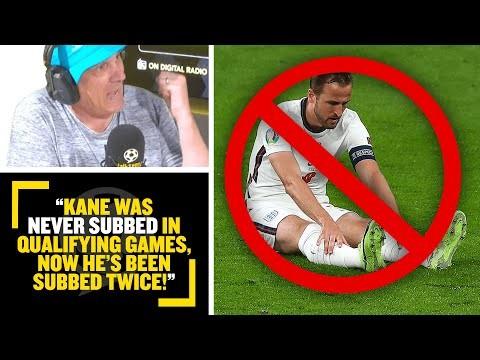 """KANE WAS NEVER SUBBED!"" 😱 Tony Cascarino discusses Harry Kane's performances at #EURO2020."