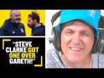 """""""STEVE CLARKE GOT ONE OVER GARETH!"""" Tony Cascarino reviews Scotland V England draw at #EURO2020"""