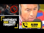 """""""HE HAS TO GO TONIGHT!"""" Alban the England fan SLAMS Gareth Southgate & England's draw with Scotland!"""