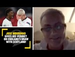 """""""ENGLAND SHOULD GIVE MORE!"""" Jose Mourinho gives his verdict on England's draw with Scotland!"""