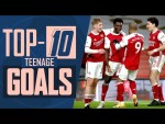 Ranking the Top 10 Goals from Arsenal teenagers | Vela, Gnabry, Ramsey, Fabregas & more