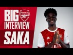 From Hale End to Euro 2020 | Bukayo Saka | The Big Interview