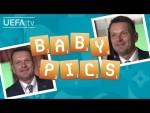 Can ŠTEFAN TARKOVIČ recognize his SLOVAKIA players from their baby photos?