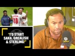 """I'D START SAKA, GREALISH & STERLING!"" Jason Cundy names his England attack to face Germany!"