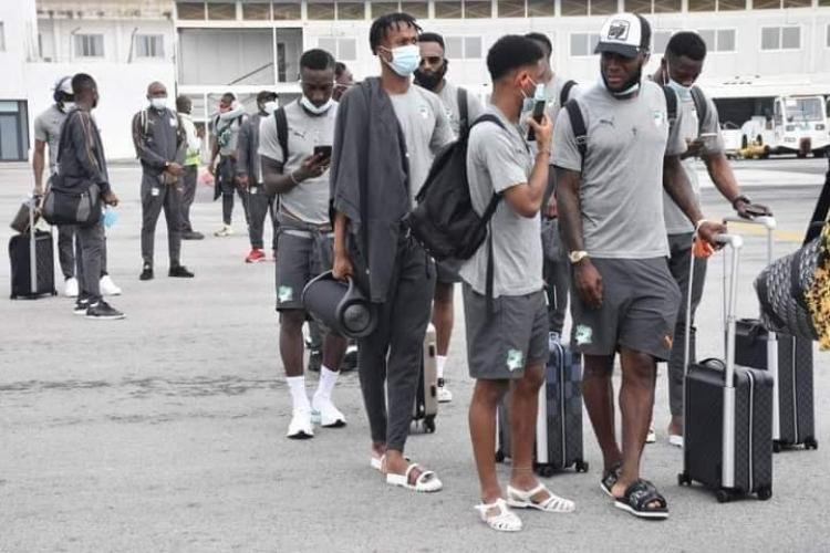Ivory Coast arrive in Ghana for Black Stars friendly encounter