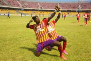 Midfielder Benjamin Afutu praises Hearts of Oak boss Samuel Boadu for his improved form