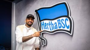 I'm here to give back to Hertha Berlin, says KP Boateng after signing for boyhood club