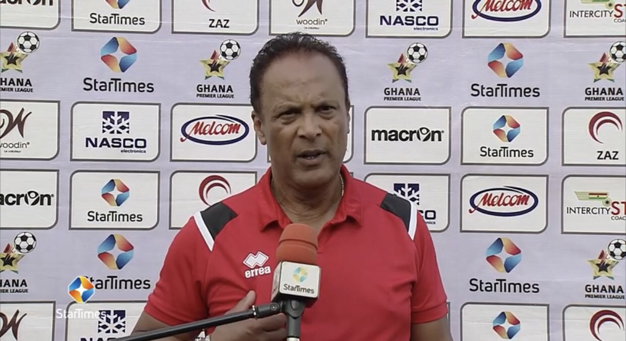 Kotoko coach Mariano Barreto handed a two-match suspension and fined 3000 Ghana cedis