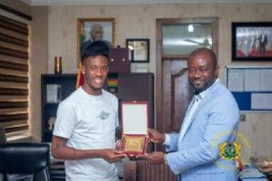 We will work with political authorities to get Hudson-Odoi, others to play for Ghana - Kurt Okraku