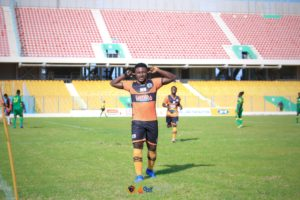 Richmond Antwi nets brace as Legon Cities beat Uncle T to advance to MTN FA Cup Round 32