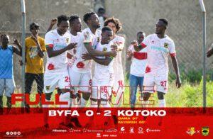 Asante Kotoko thump BYFA 2-0 to progress to MTN FA Cup Round 32