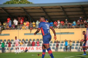 Legon Cities FC coach Bashir Hayford starts Asamoah Gyan in first eleven for Uncle T game