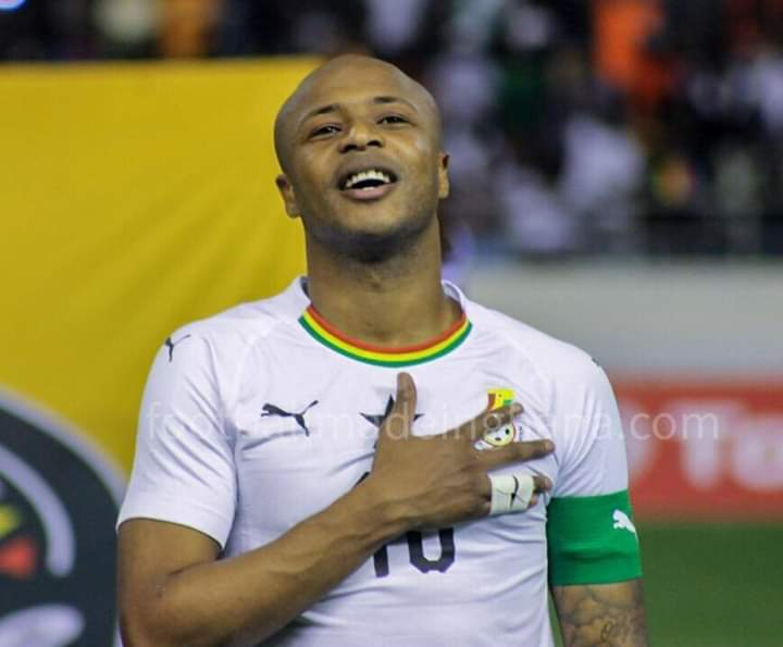 Ghana captain Andre Ayew to return to starting eleven for Ivory Coast game