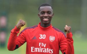 English-born Ghanaian attacker Eddie Nketiah offered contract extension deal by Arsenal
