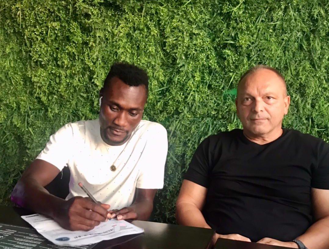 Francis Ametepey joins UAE club Al Arabi