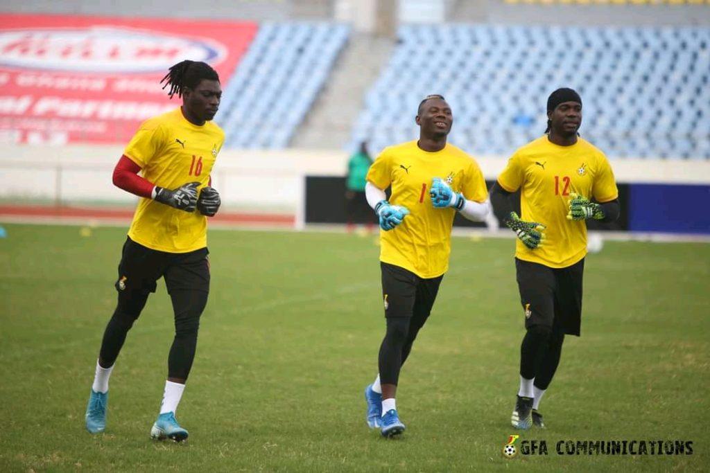 Black Stars train in Cape Coast ahead of friendly against Ivory Coast