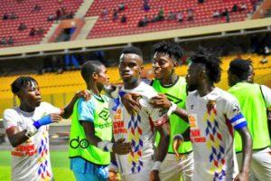 20/21 Ghana Premier League matchday 30: Hearts of Oak reclaim top spot after beating Legon Cities 2-1