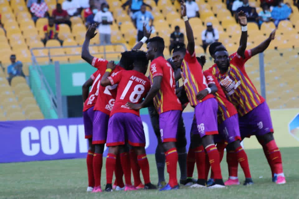 GPL HIGHLIGHTS: Hearts of Oak back on top of league table despite draw against Great Olympics