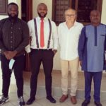 Beach Soccer officials and Ghana FA Director hold 'fruitful' talks