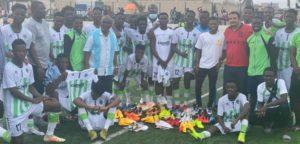 Ghana midfielder Clifford Aboagye donates to Cedar Stars