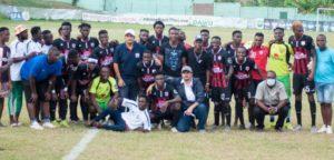 Ghana and Celta Vigo defender Joseph Aidoo visit inspires Inter Allies to beat Medeama