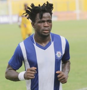 Too early to determine who wins the GPL title - Great Olympics midfielder James Akaminko