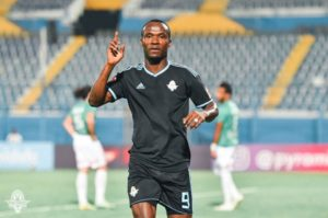 CAF CC: Unfit Ghana striker John Antwi misses Pyramids FC semi-finals first leg against Raja