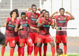 GPL HIGHLIGHTS:  Asante Kotoko take top spot after win against Karela Utd