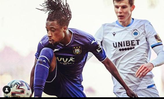 Anderlecht midfielder Ashimeru not worried about Black Stars snub