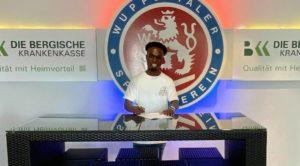 We hope to help Phillip Aboagye develop, says Wuppertaler SV director Kusters