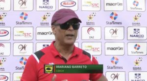 It was an exciting game but the win is enough - Kotoko coach Mariano Barreto