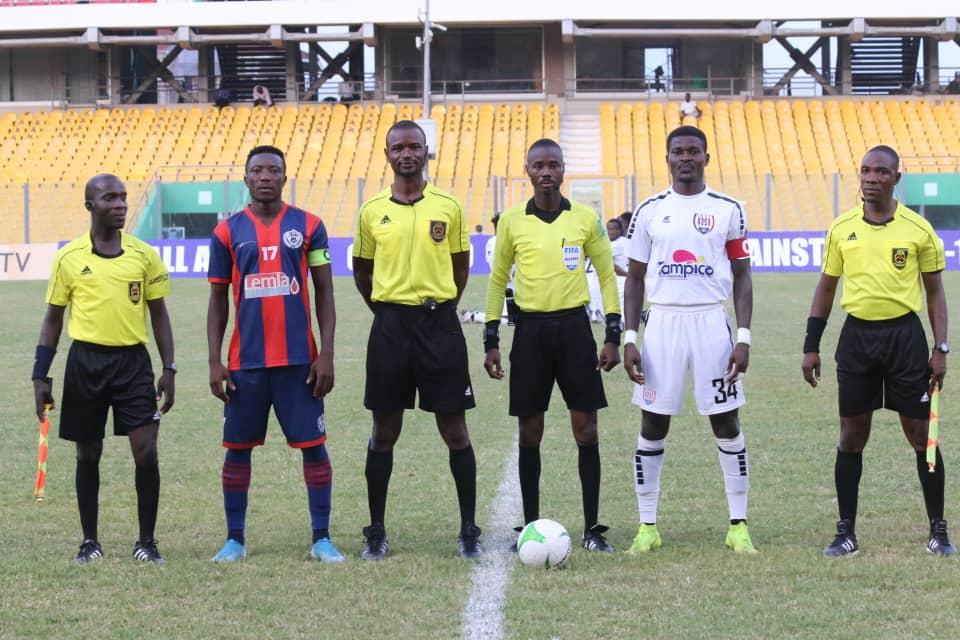 Ghana Premier League: Match officials for match week 29 announced